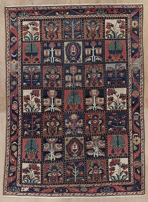 Persian Bakhtiari Rectangle 4x6