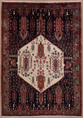 Persian Ghashghaei Rectangle 5x7