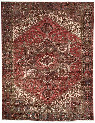 Persian Heriz Rectangle 10x13