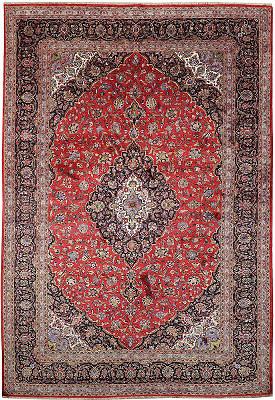 Persian Kashan Rectangle 7x10