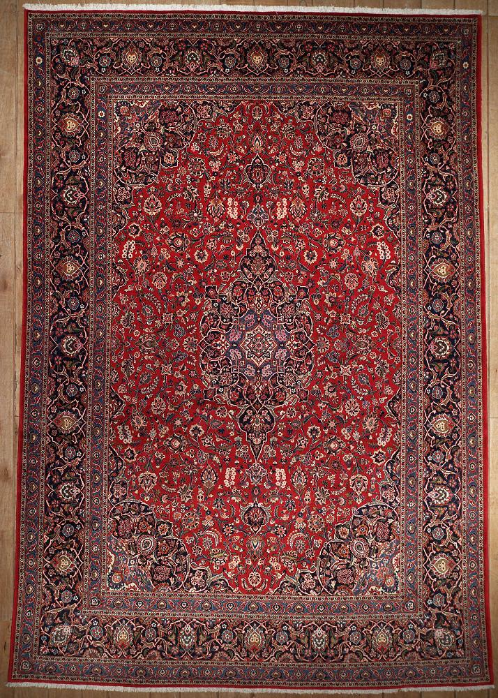 Persian Kashan 9x13