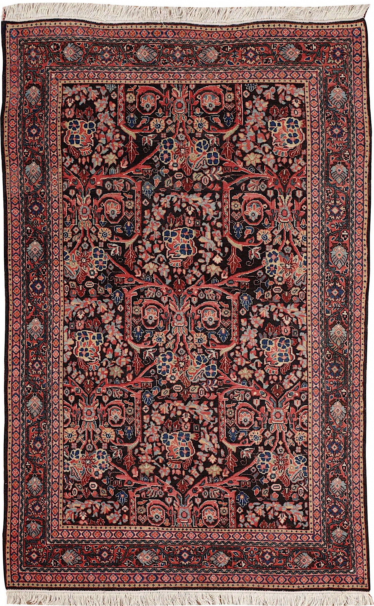 Persian Malayer Rectangle 4x6