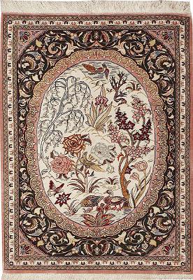 Persian Qum Rectangle 1x1