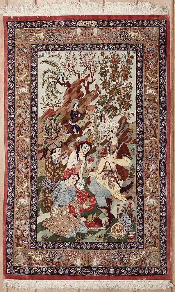 Persian Qum 3x5