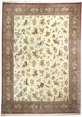 Persian Qum Rectangle 9x13