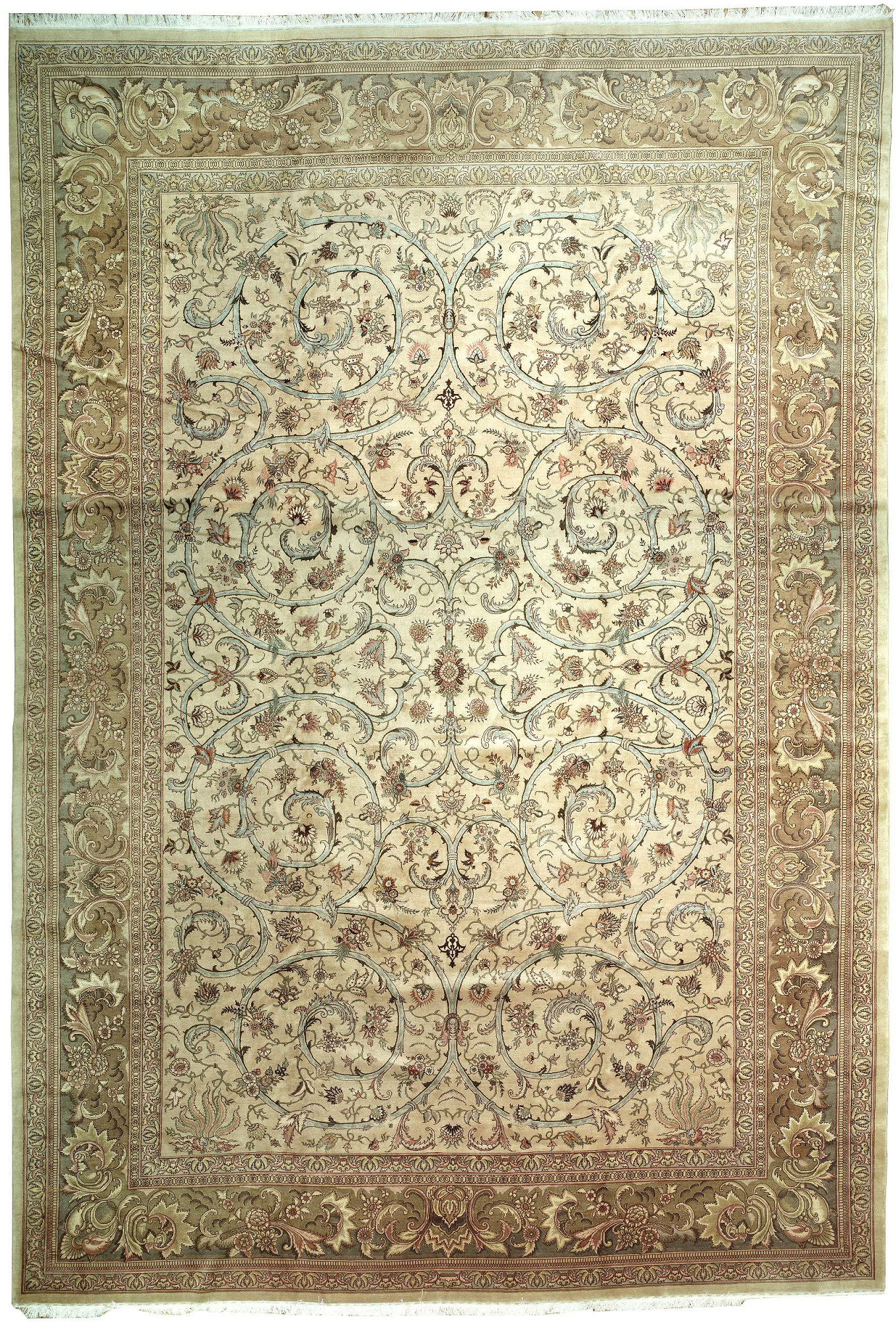 Persian Tabriz Rectangle 12x18