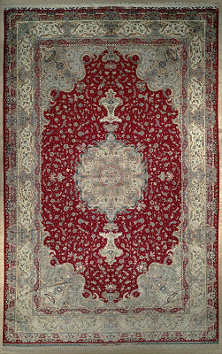 Persian Tabriz Rectangle 12x20
