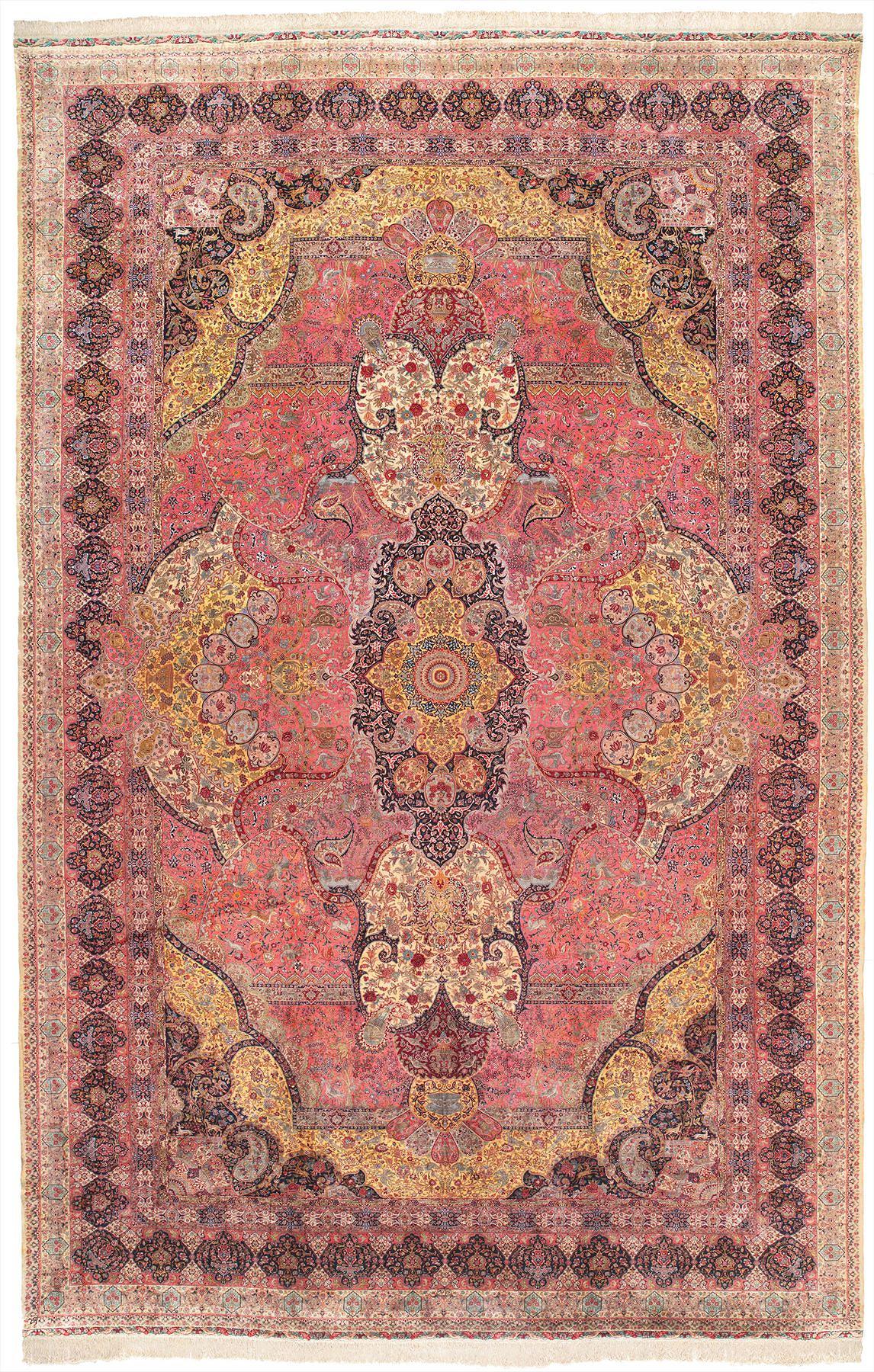 Persian Tabriz Rectangle 16x25