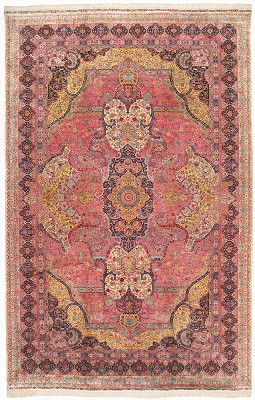 Persian Tabriz Rectangle 16x25