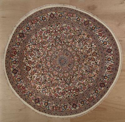 Persian Tabriz Round 8x8