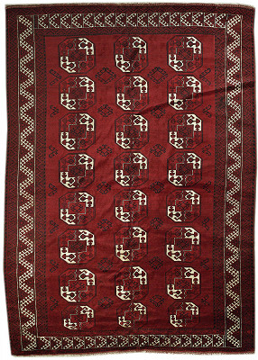 Persian Turkaman Rectangle 8x11