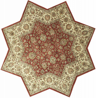 Sultanabad Hexagon 7x7