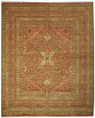 Tabriz Rectangle 8x9