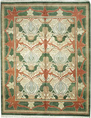 W.Morris Rectangle 8x9