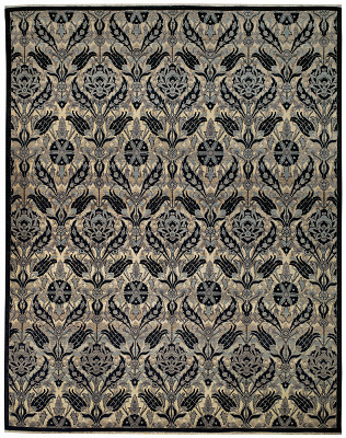 Art Deco Rectangle 9x11