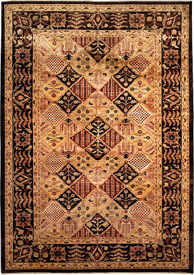 Bakhtiari Rectangle 10x14