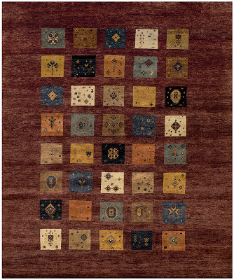 Gabbeh Rectangle 8x9
