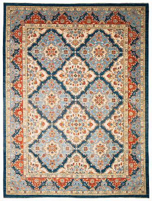 Mahal Rectangle 8x11