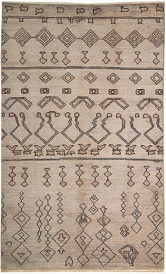 Moroccan Rectangle 4x7