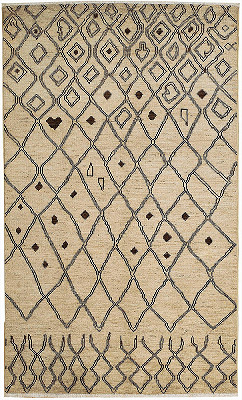 Moroccan Rectangle 4x7