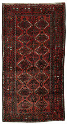 Persian Afshar Rectangle 4x7