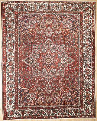 Persian Bakhtiari Rectangle 10x13