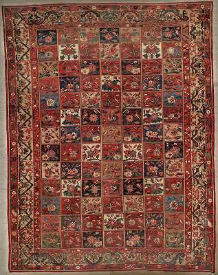Persian Bakhtiari Rectangle 12x15