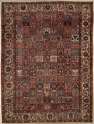 Persian Bakhtiari Rectangle 13x17