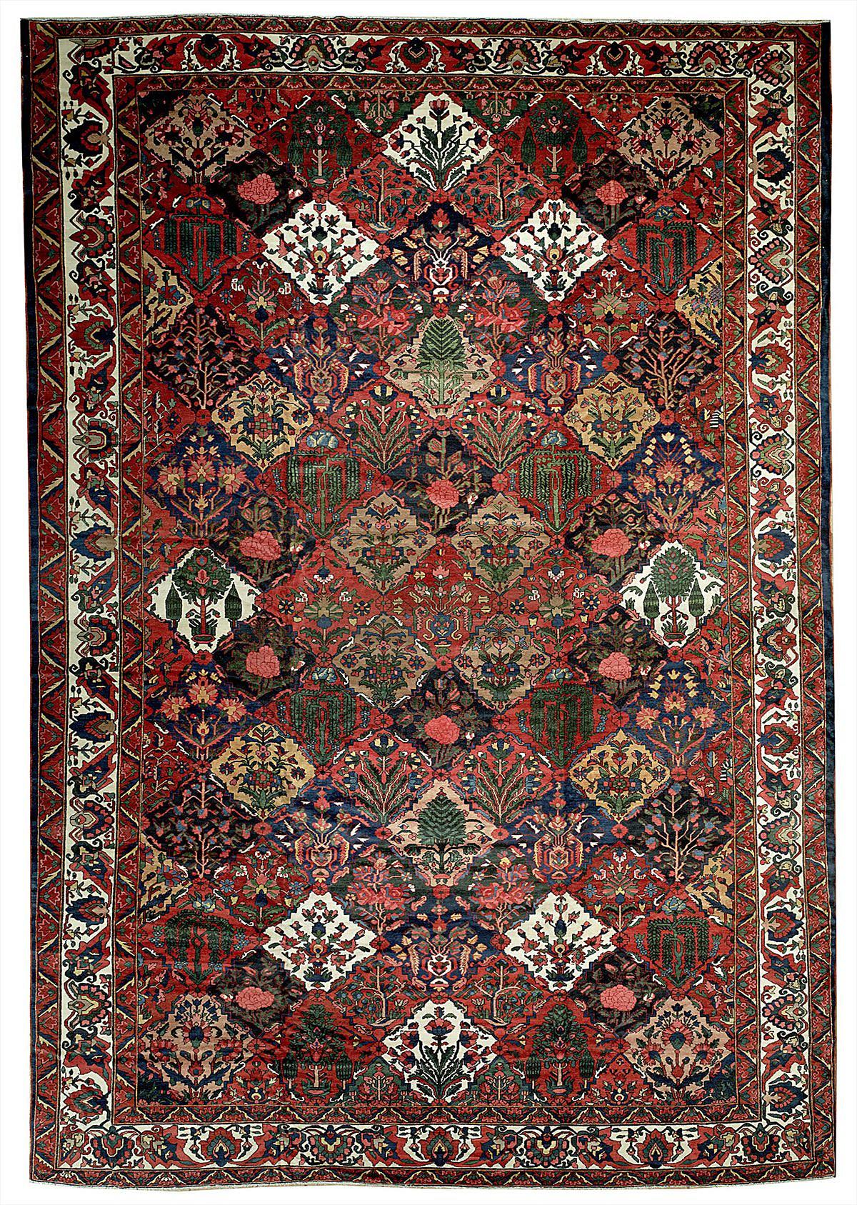 Persian Bakhtiari Rectangle 13x20