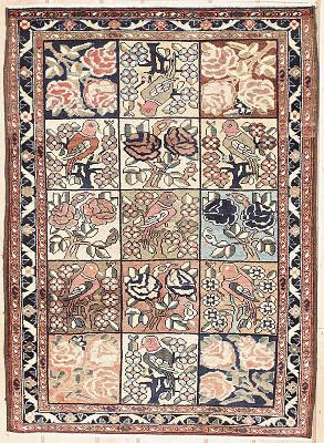 Persian Bakhtiari Rectangle 3x5