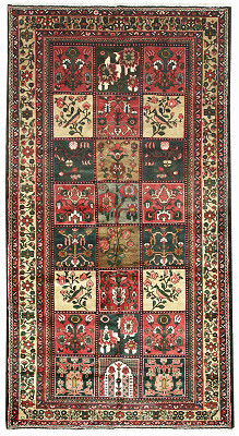 Persian Bakhtiari Rectangle 6x11