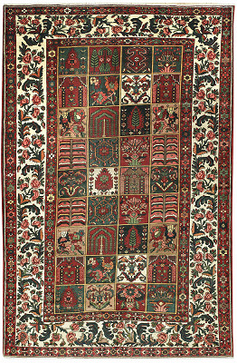 Persian Bakhtiari Rectangle 8x12