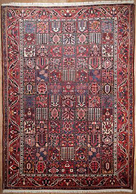 Persian Bakhtiari Rectangle 9x13