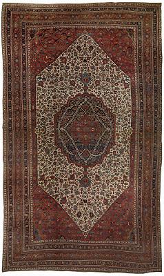 Persian Bijar Rectangle 14x24