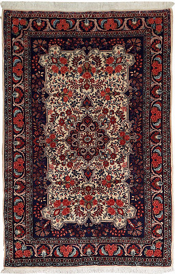 Persian Bijar Rectangle 3x5