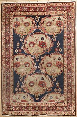 Persian Bijar Rectangle 4x6