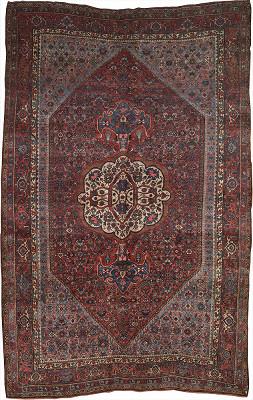 Persian Bijar Rectangle 7x11