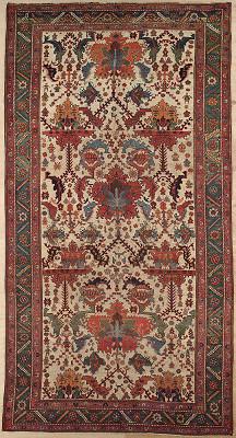 Persian Bijar Rectangle 7x13