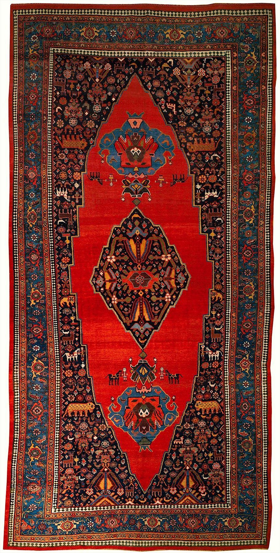 Persian Bijar 7x15