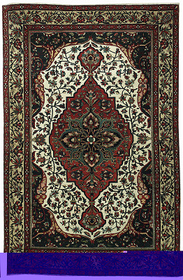 Persian Farahan Rectangle 4x6