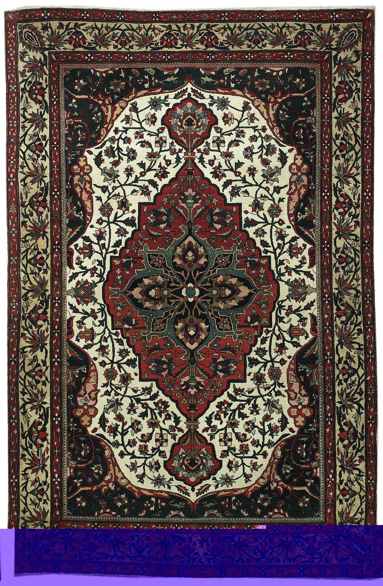 Persian Farahan Rectangle 4x6