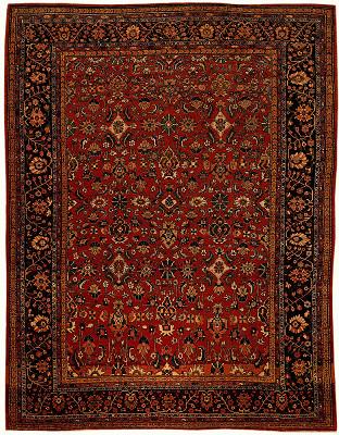Persian Farahan Rectangle 7x10