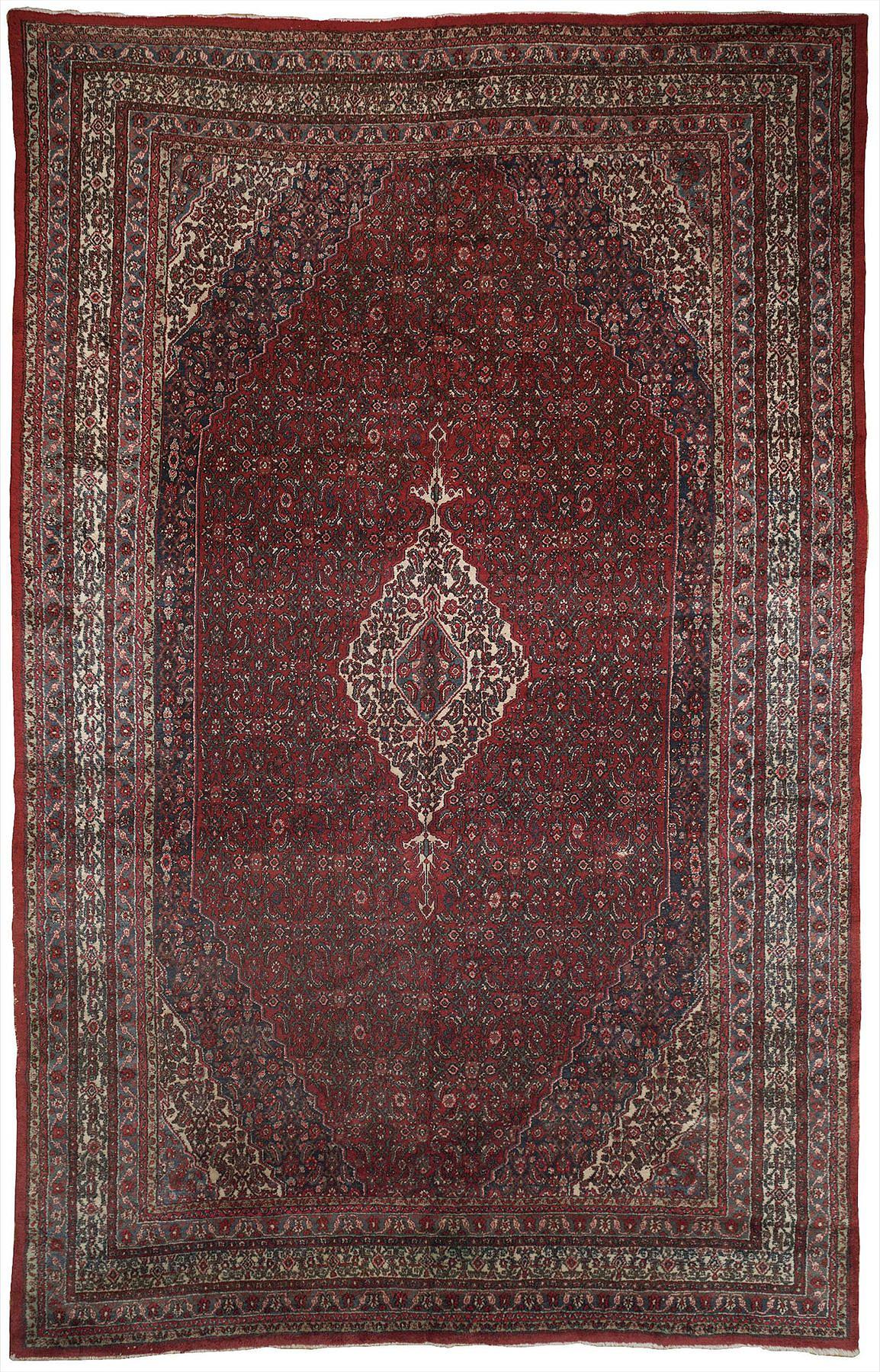 Persian Hamedan Rectangle 10x17