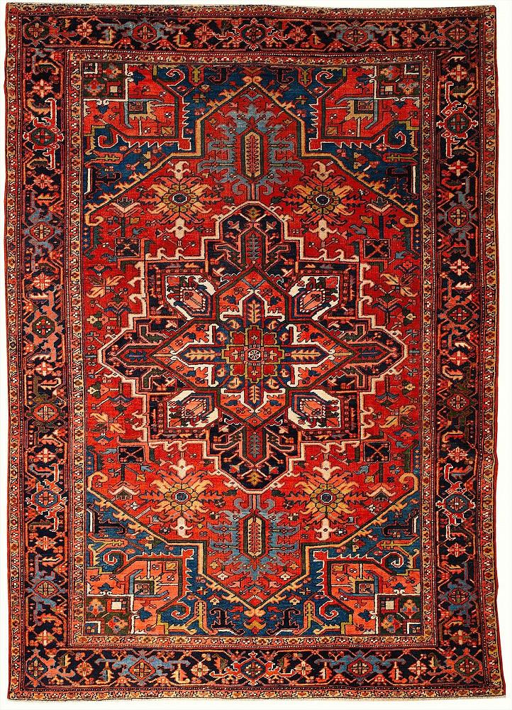 Persian Heriz 7x10