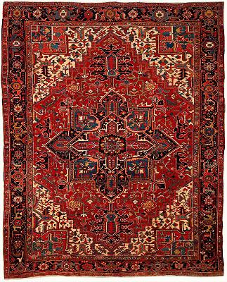 Persian Heriz Rectangle 8x10