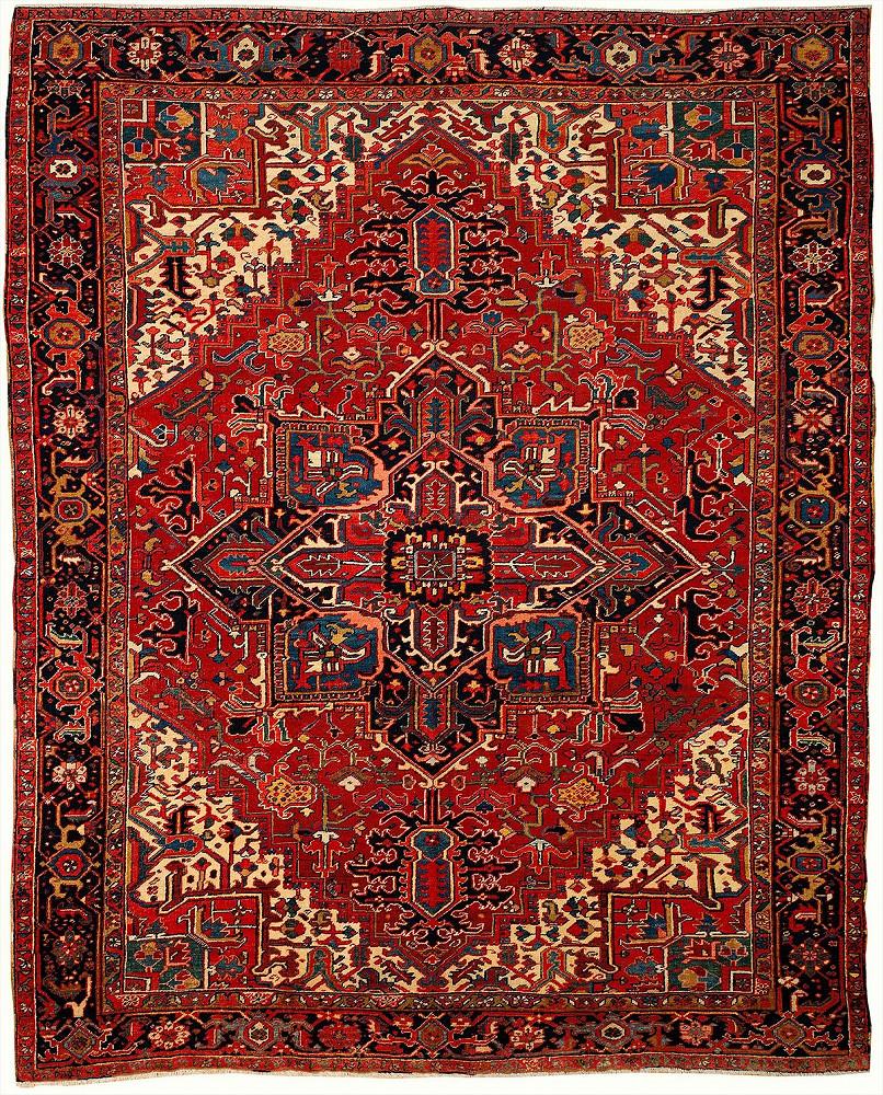 Persian Heriz 8x10