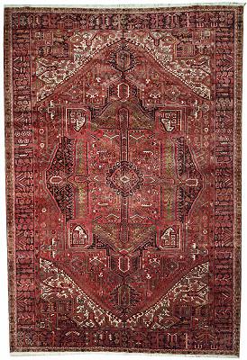 Persian Heriz Rectangle 9x13