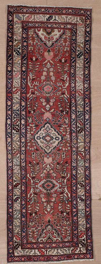 Persian Heriz 3x9
