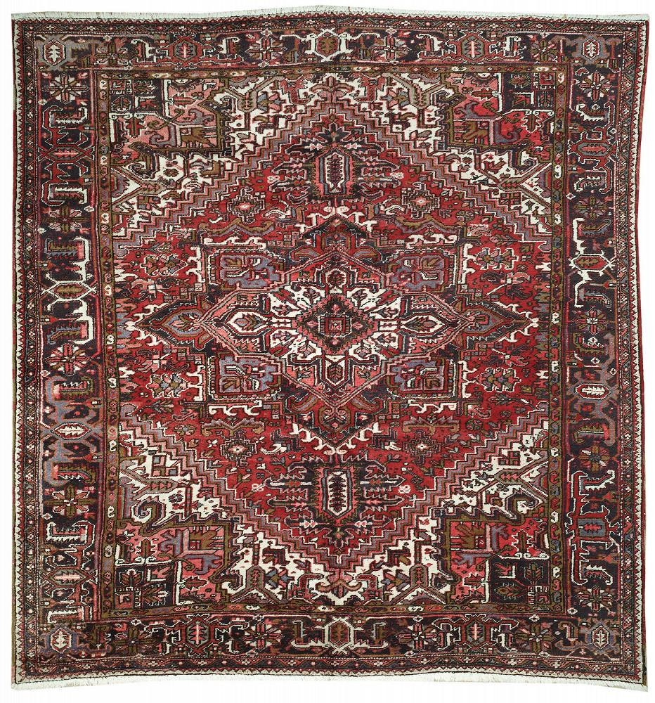 Persian Heriz Square 10x11