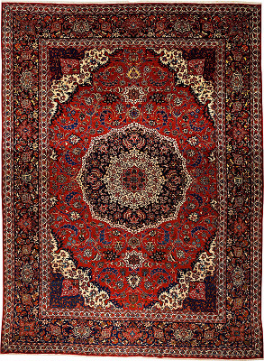 Persian Isfahan Rectangle 10x14